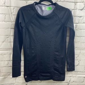 Athleta stretch long sleeve with grey liner